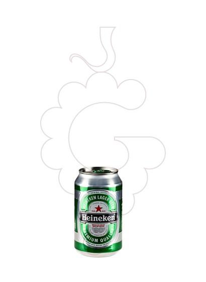 Photo Bière Heineken can