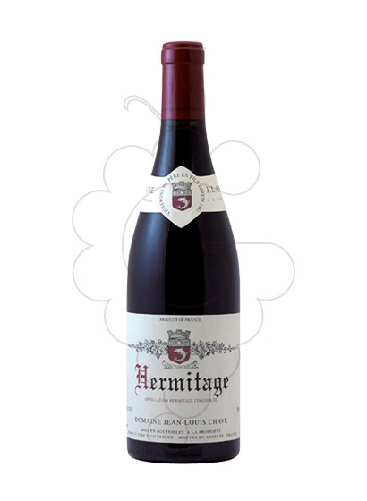 Photo J.L.Chave Hermitage Rouge Vin rouge