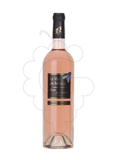 Photo Le Vin de Merde Rose Vin rosé