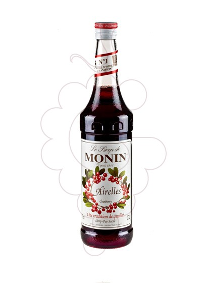 Photo Sirops Monin Airelles (s/alcohol)