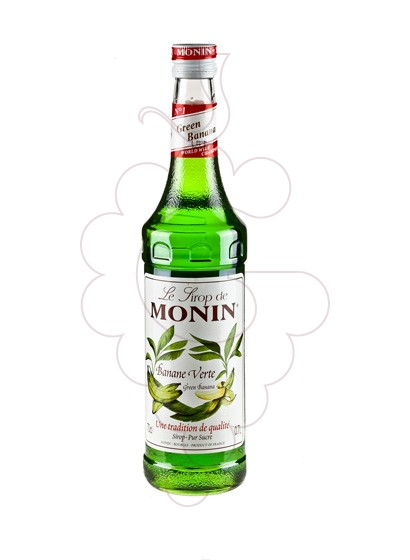 Photo Sirops Monin Banane Verte (s/alcohol)