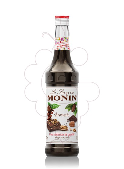 Photo Sirops Monin Brownie (s/alcohol)