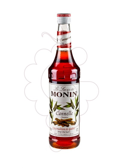 Photo Sirops Monin Cannelle (s/alcohol)