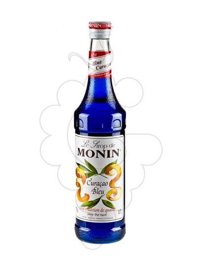 Photo Sirops Monin Curacao Bleu (s/alcohol)