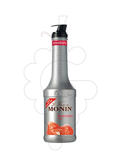 Photo Autres Monin Puré Strawberry (s/alcohol)