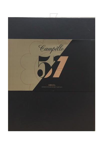 Photo Coffrets cadeaux Campillo 57 Gran Reserva Pack 3 u