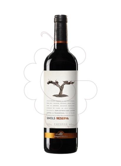 Photo Sinols Reserva Vin rouge