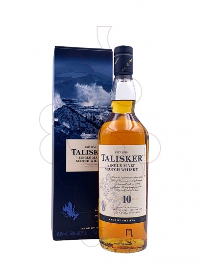 Photo Whisky Talisker 10 Ans
