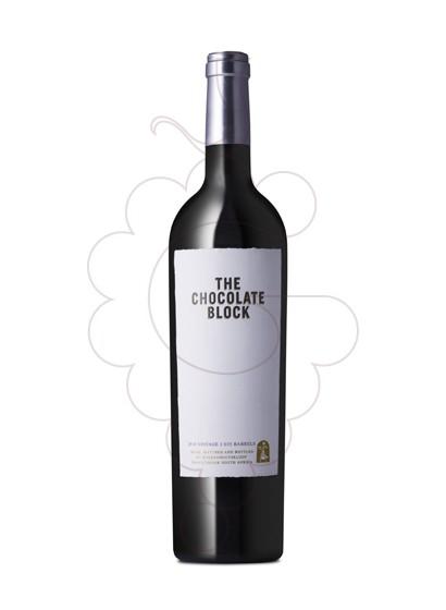 Photo Boekenhoutskloof The Chocolate Block Magnum Vin rouge