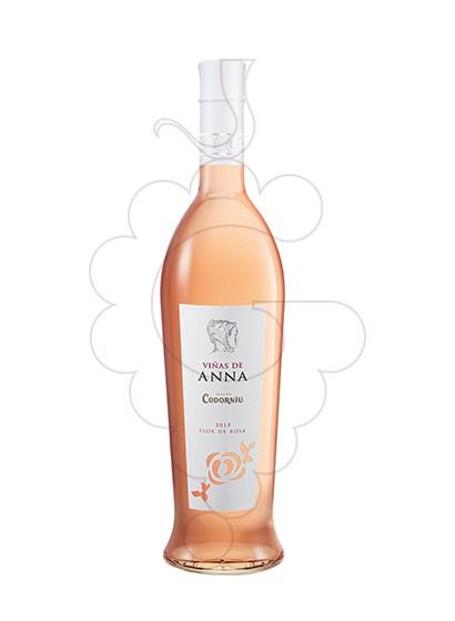 Photo Viñas de Anna Flor de Rosa Vin rosé